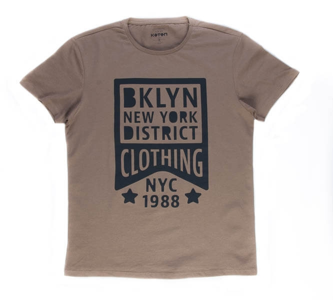 تی شرت مردانه طرح دار کوتون COTON کد TS1071