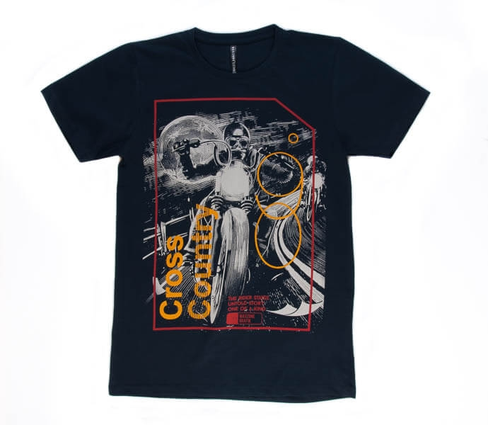 تی شرت مردانه طرح دار مکس زون maxzone کد TS1067