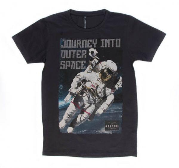 تی شرت مردانه طرح دار مکس زون کد 1114