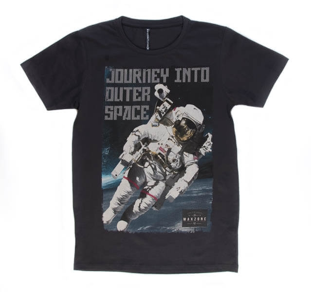 تی شرت مردانه طرح دار مکس زون maxzone کد TS1068