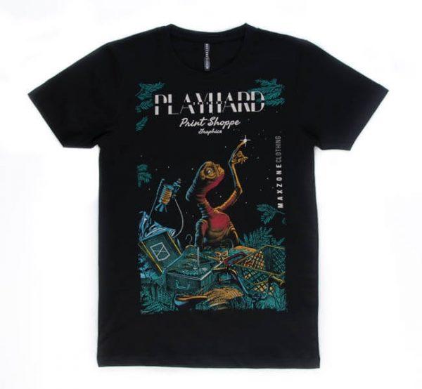 تی شرت مردانه طرح دار maxzone کد TS1070