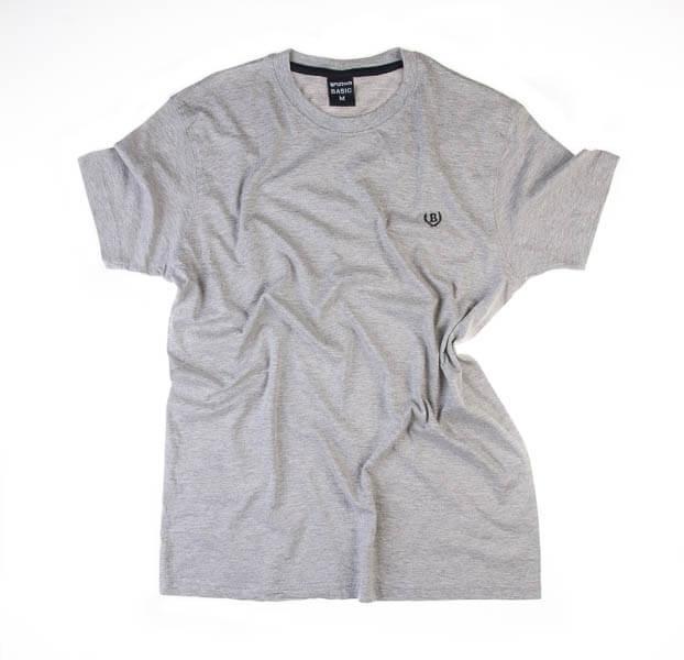 تی شرت مردانه ساده برند BASIC کد TS1044