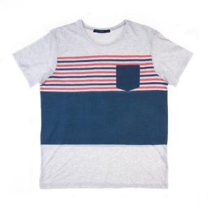 تی شرت مردانه ساده Plaza کد TS1055