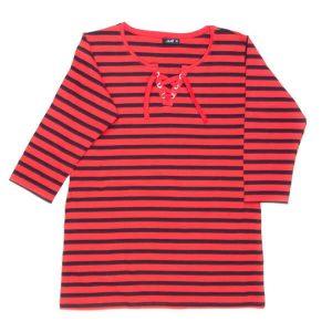 تی شرت زنانه آستین دار H&M کد TO1021