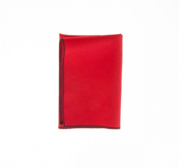 دستمال جیب ساده قرمز PSH1126