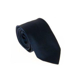 کراوات طرح دار مردانه سورمه ای کد T1051