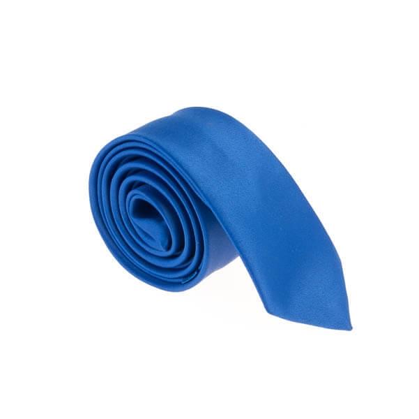 کراوات ساده مردانه آبی کد T1055