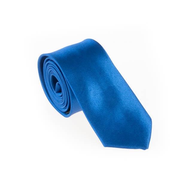 کراوات ساده مردانه آبی کد T1066