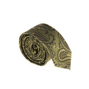 کراوات ابریشمی طرح دار مردانه Rossi باریک کد T1067