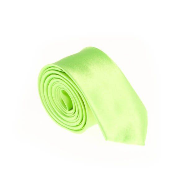 کراوات ساده مردانه سبز کد T1069