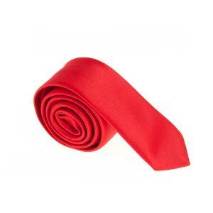 کراوات ساده مردانه قرمز کد T1071