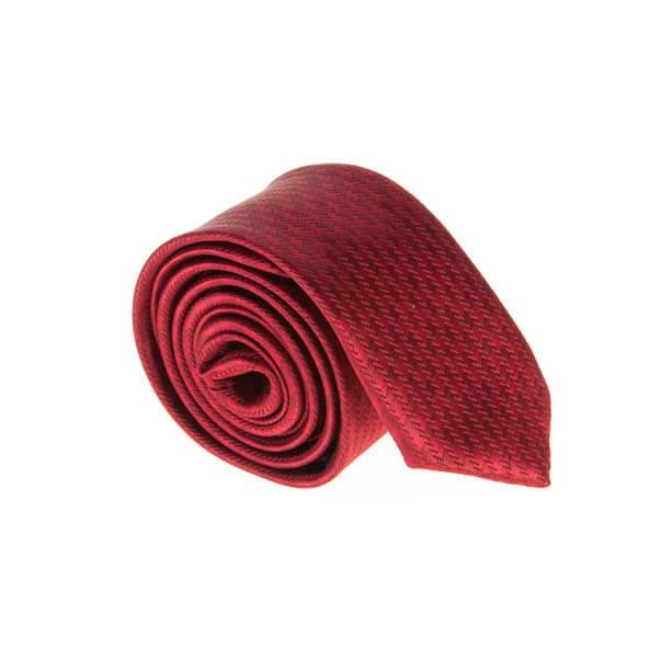 کراوات طرح دار مردانه قرمز کد T1129