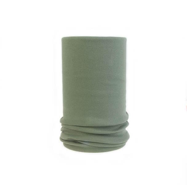 اسکارف ساده سبز ارتشی کد SS 1108