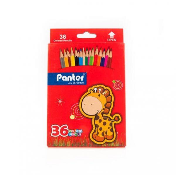 مداد رنگی 36 رنگ پنتر panter کد stcp1023