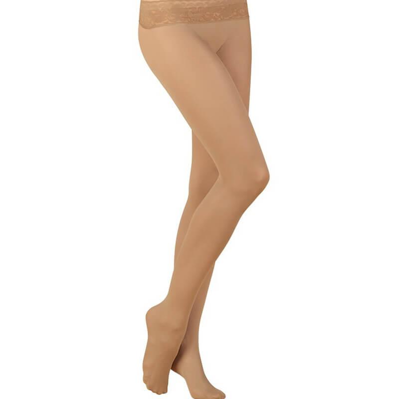 جوراب شلواری زنانه اسمارا فاق کوتاه رنگ کرم