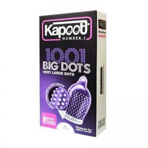 کاندوم کاپوت مدل Big Dots بسته 12 عددی