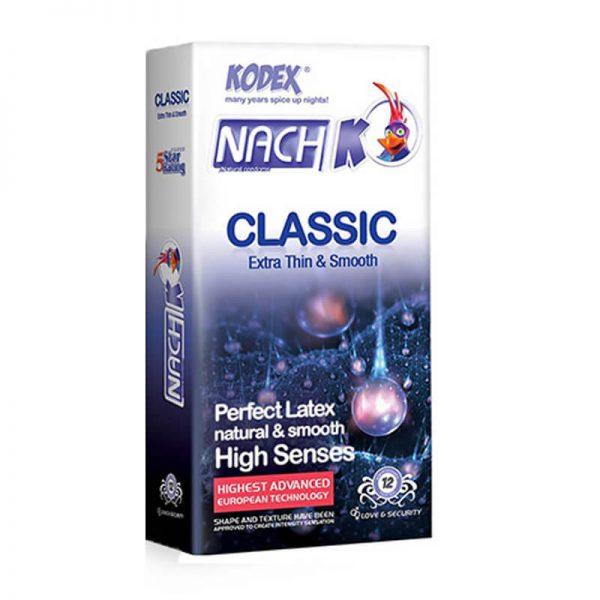 کاندوم ناچ کدکس مدل classic extera thin کد nac2001