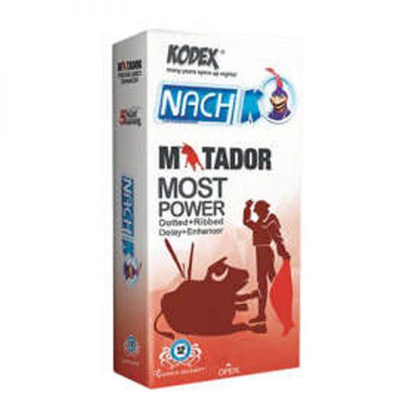 کاندوم ناچ کدکس مدل matador کد nac2002