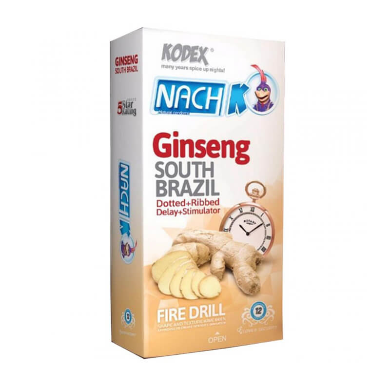 کاندوم ناچ کدکس مدل ginseng کد nac2003