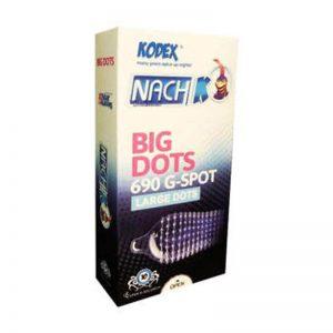 کاندوم ناچ کدکس مدل Big Dots کد nac2004