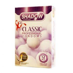 کاندوم شادو مدل classic بسته 12 عددی