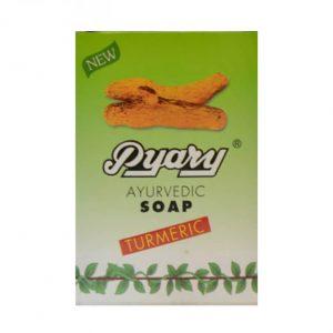 صابون زردچوبه ارگانیک برند پیاری