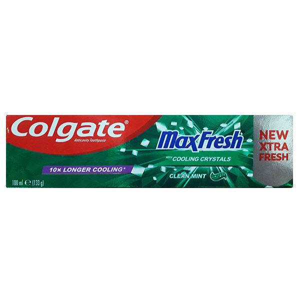 خمیر دندان کلگیت سری مکس فرش مدل clean mint حجم 100ml