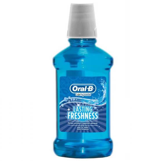 دهان شویه اورال بی سری کامپلیت مدل lasting freshness حجم 250ml
