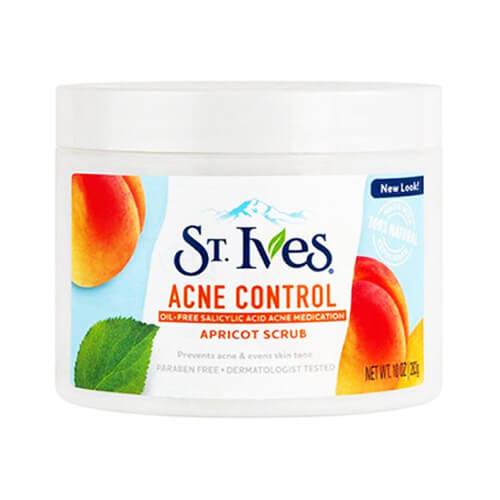اسکراب صورت سینت ایوز زردآلو Acne control