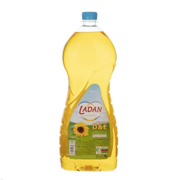روغن مایع ویتامینه آفتابگردان لادن 1.5 لیتر