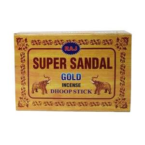 عود دست ساز هندی super sandal gold مخروطی