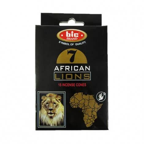 عود خوشبو کننده هوا بیک مدل AFRICAN LIONS مخروطی