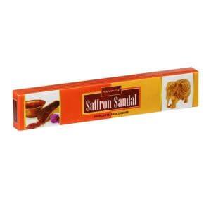عود دست ساز خوشبو کننده هوا ناندیتا Saffron Sandal