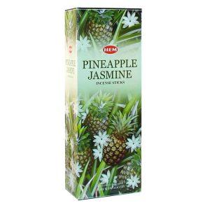 عود خوشبو کننده هوا هم PINEAPPLE JASMINE پک 6 بسته ای