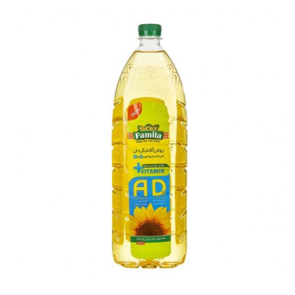 روغن آفتابگردان غنی شده با ویتامین A و D فامیلا 1500 گرمی