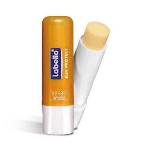 بالم لب لابلو labello محافظ لب و ضد آفتاب sun protect