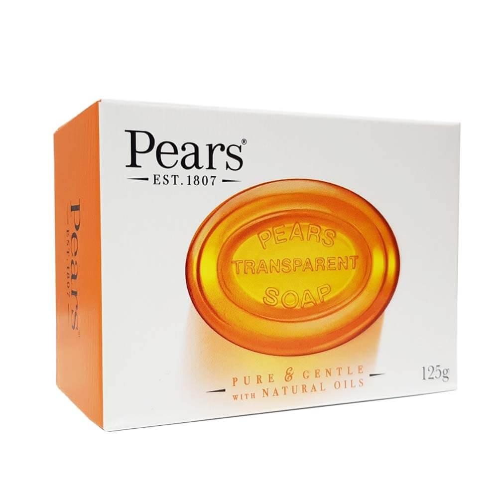 صابون پیرز pears سری pure & gentle مدل natural oils حجم 125g