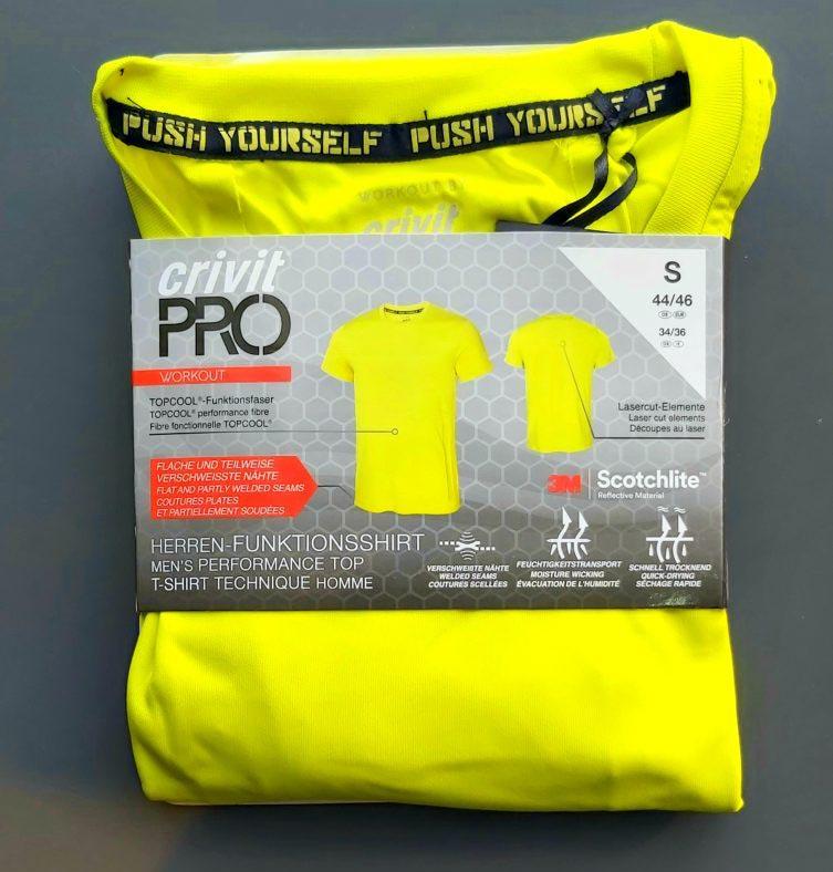 تی شرت ورزشی مردانه کریویت پرو  crivit pro کد criv2001