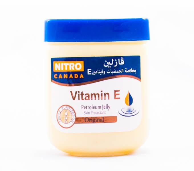 وازلین نیترو nitro canada حاوی ویتامین E حجم 120ml