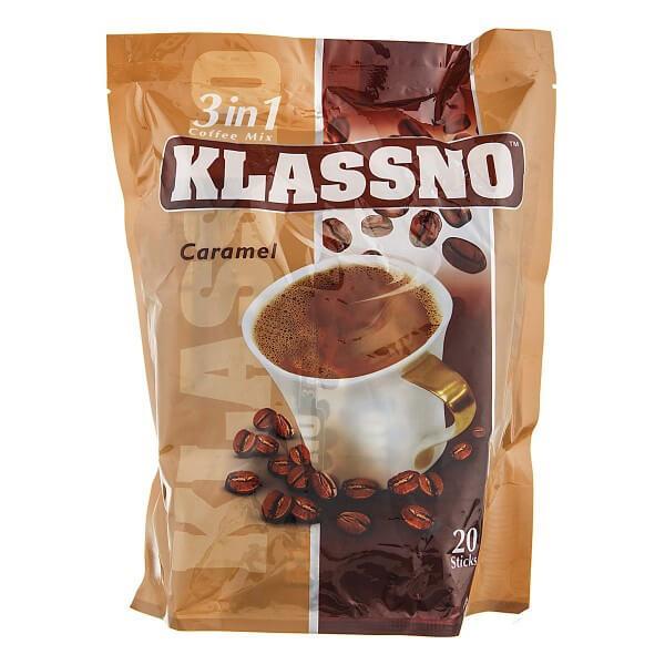 کافی میکس کلاسنو کارامل Klassno Caramel بسته 20 عددی