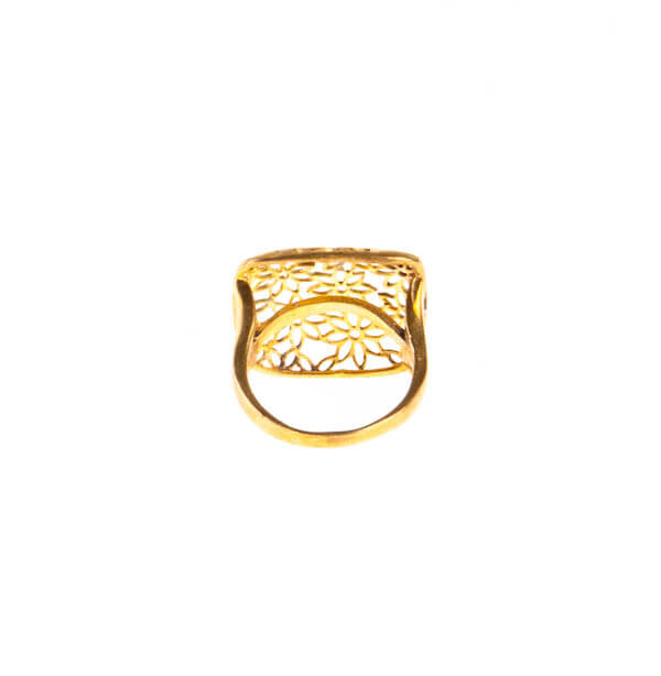 انگشتر زنانه برنجی کد br1006