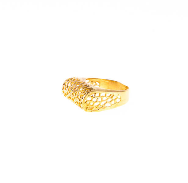 انگشتر زنانه برنجی کد br1008