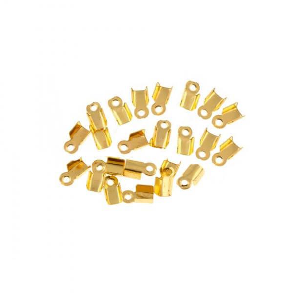 بست سربند طلایی 6mm بسته 50 تایی