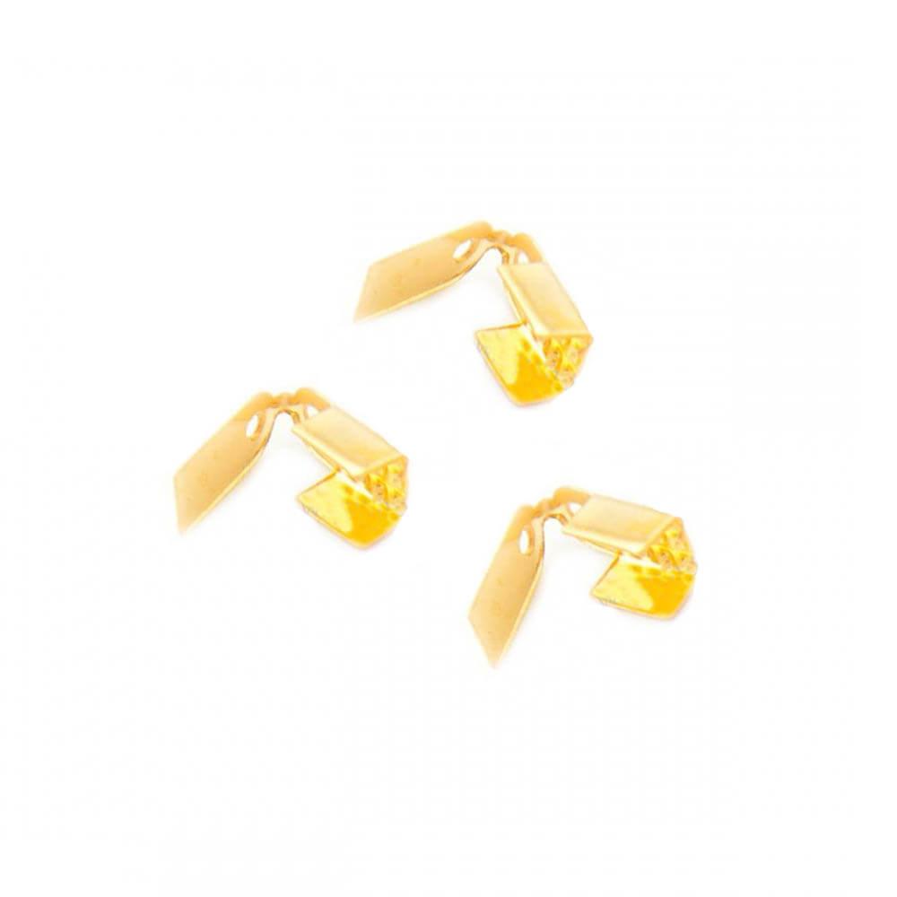 بست سربند طلایی 9mm بسته 60 تایی