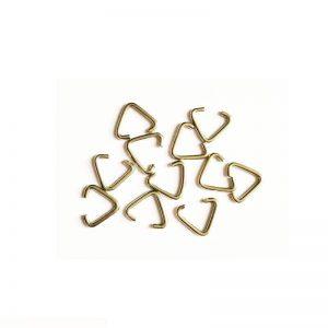 حلقه اتصال زیورآلات مثلثی سایز 15mm بسته 35 عددی