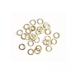 حلقه اتصال زیورآلات نقره ای