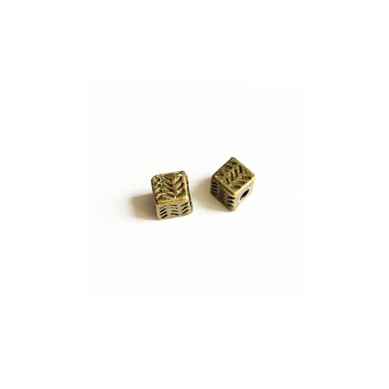 خرج کار طرح مکعب  زرد قلم 4mm بسته دو عددی
