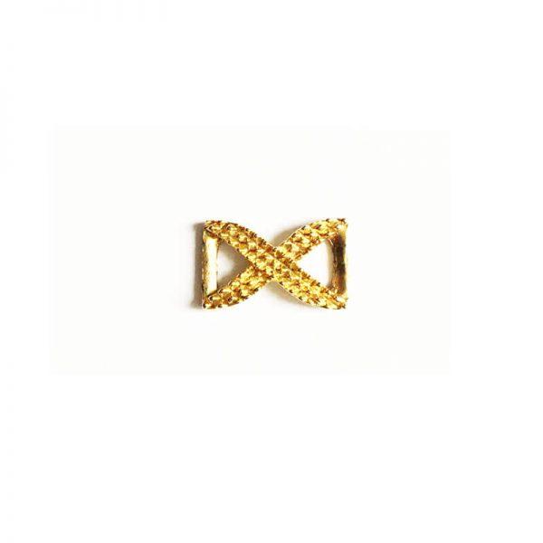 خرج کار طلایی بسته 3 عددی- 15mm