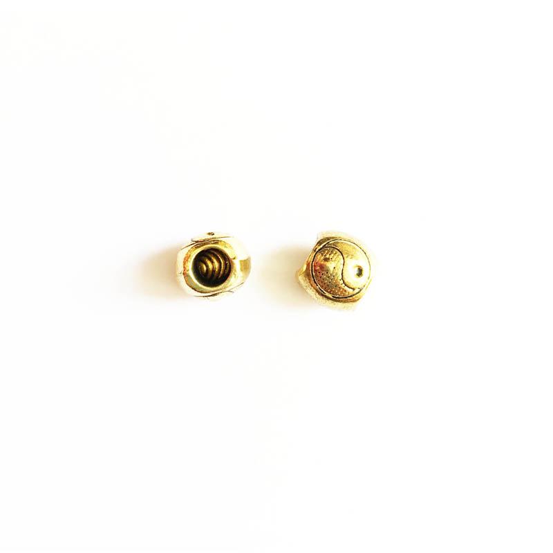 خرج کار طلایی رنگ 10mm بسته 5 عددی