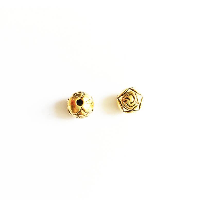 خرج کار طلایی رنگ 10mm بسته 6 عددی